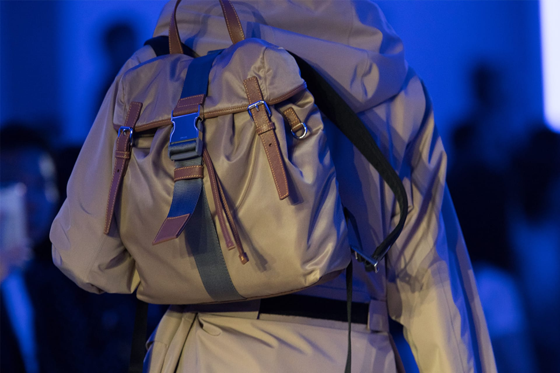 Prada Spring Summer 2020 Menswear fashion show backpack