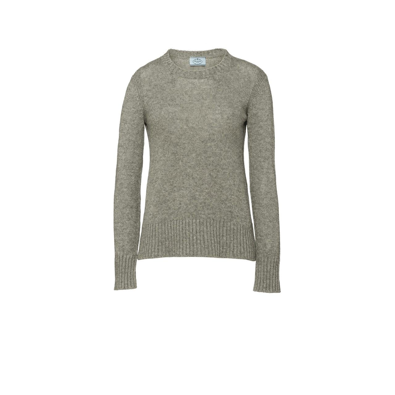 Cable-Knit Cashmere Crew-Neck Sweater