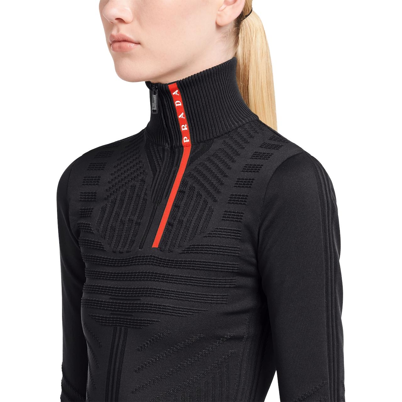 Prada Technical nylon sweater 5
