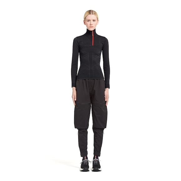 Prada Technical nylon sweater 3