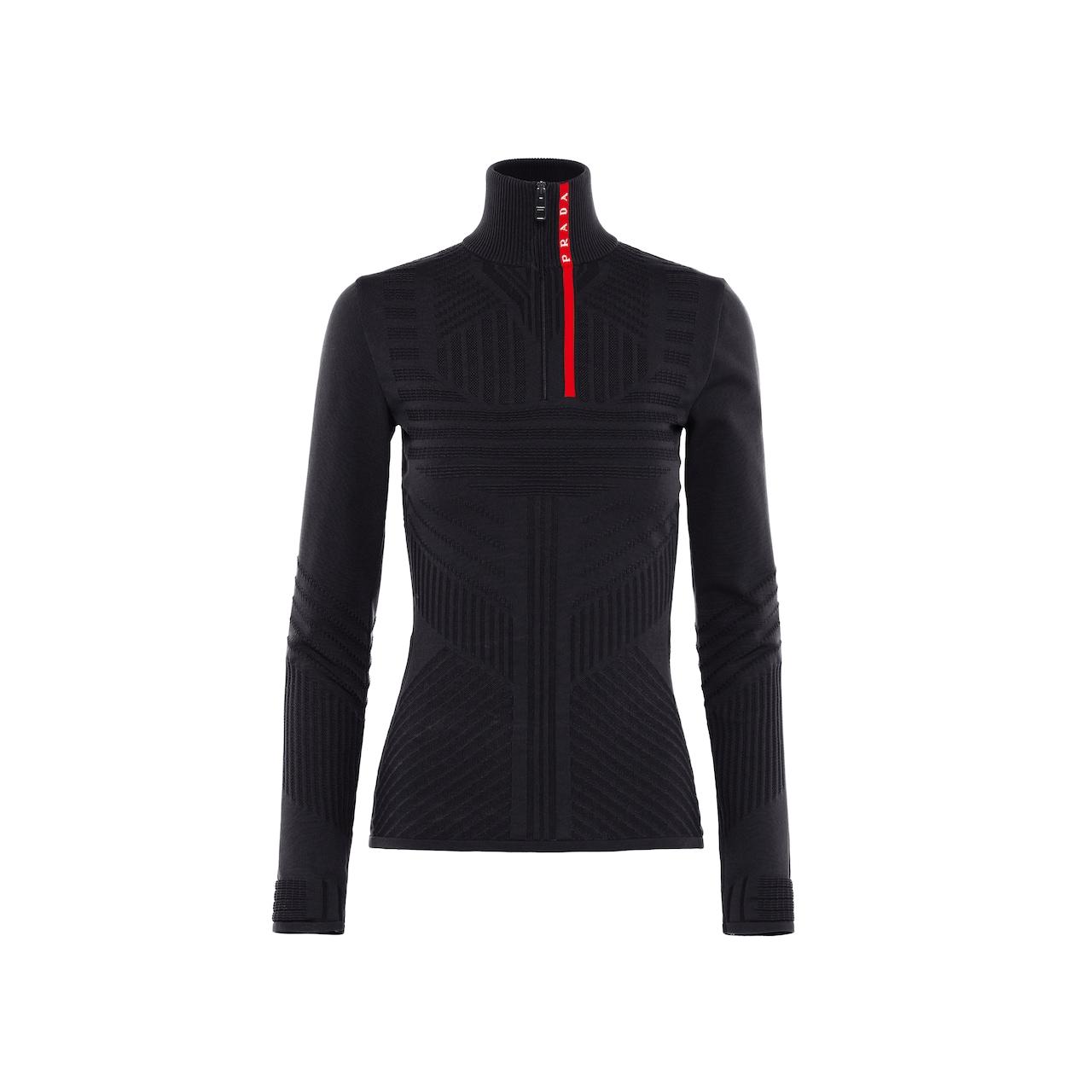 Prada Technical nylon sweater 1