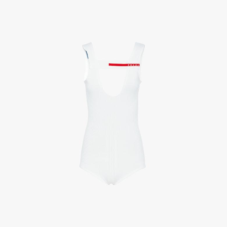 Technical nylon bodysuit