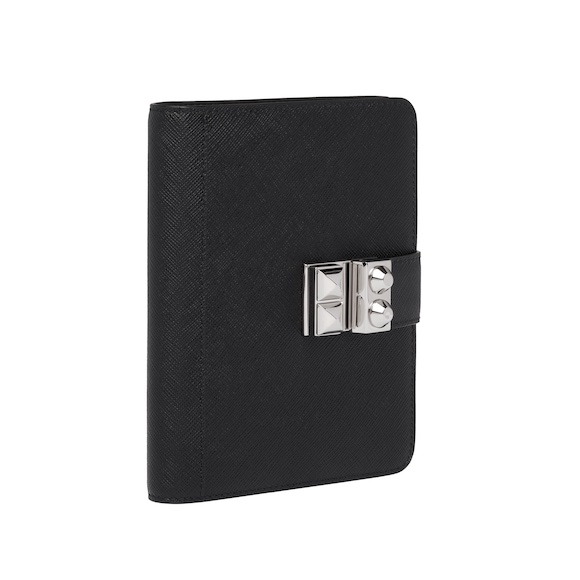 Prada Prada Elektra Saffiano leather pocket diary 2