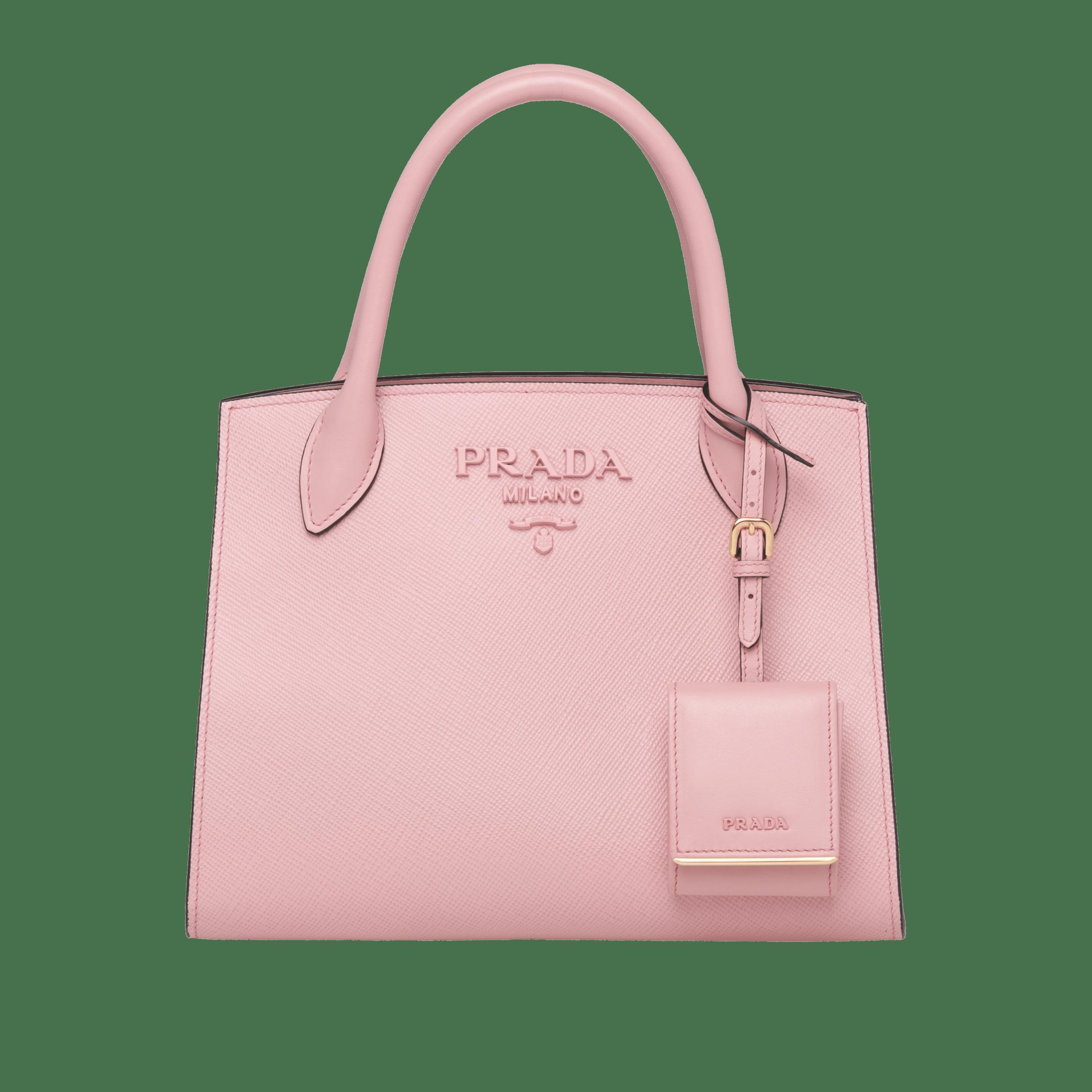 695a0b4aa95b Prada Monochrome Saffiano leather bag | Prada - 1BA156_2ERX_F0924_V_OOO