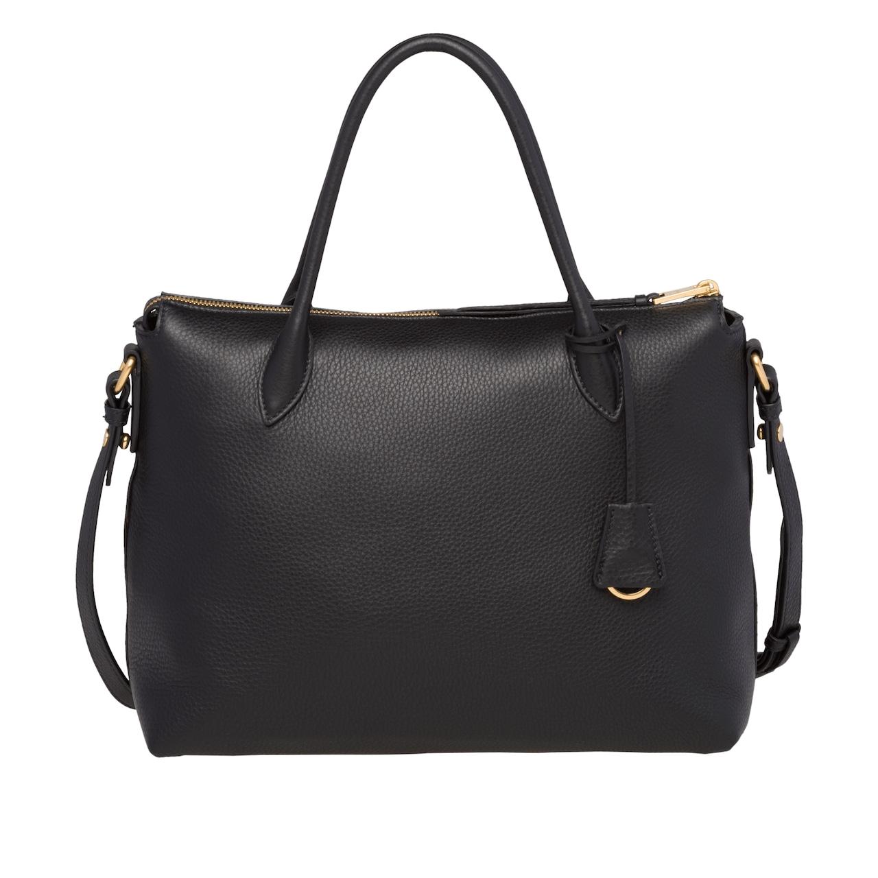 Calf leather bag