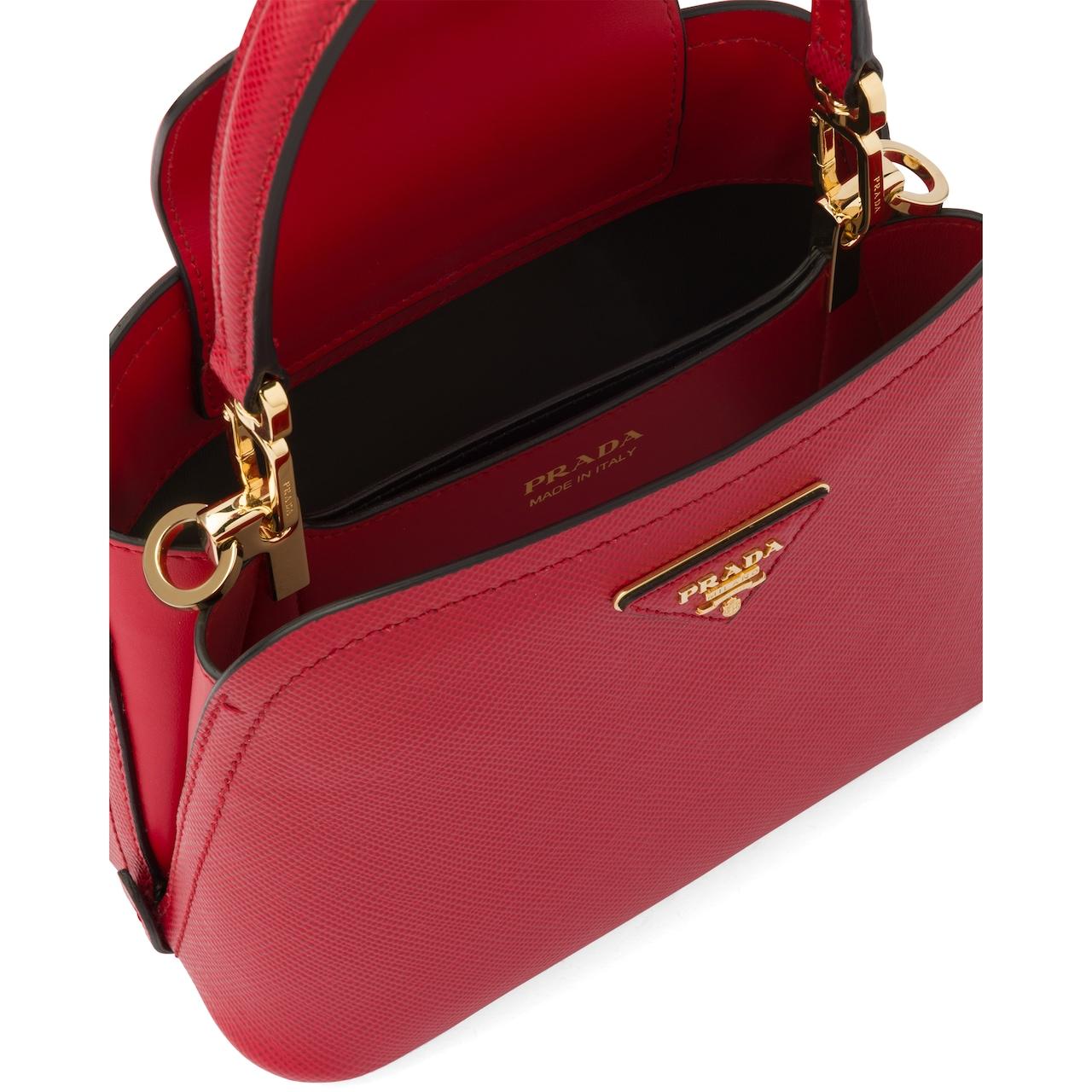 Prada Prada Matinée Micro Saffiano leather bag 5
