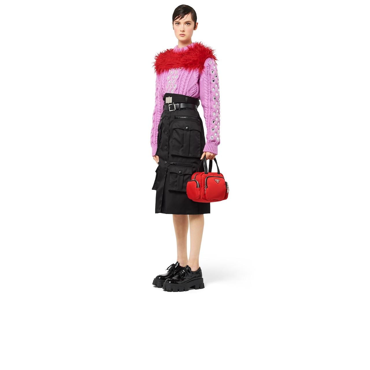 Prada Nylon Cargo top-handle bag