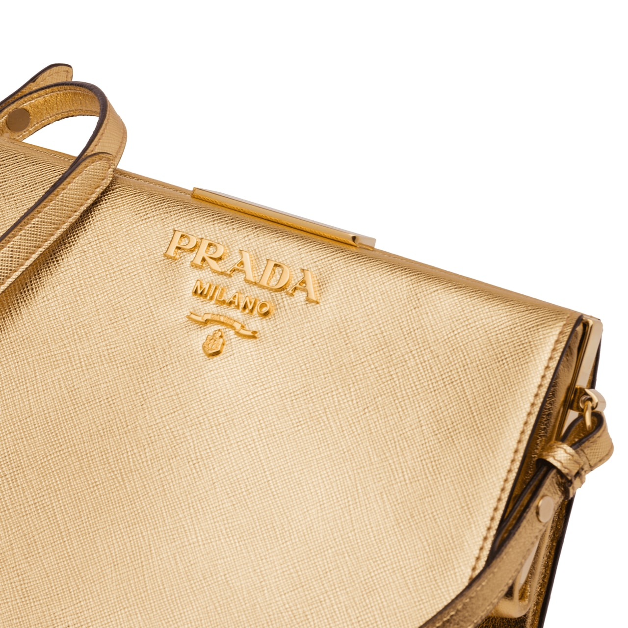 Prada Light Frame Leather Bag