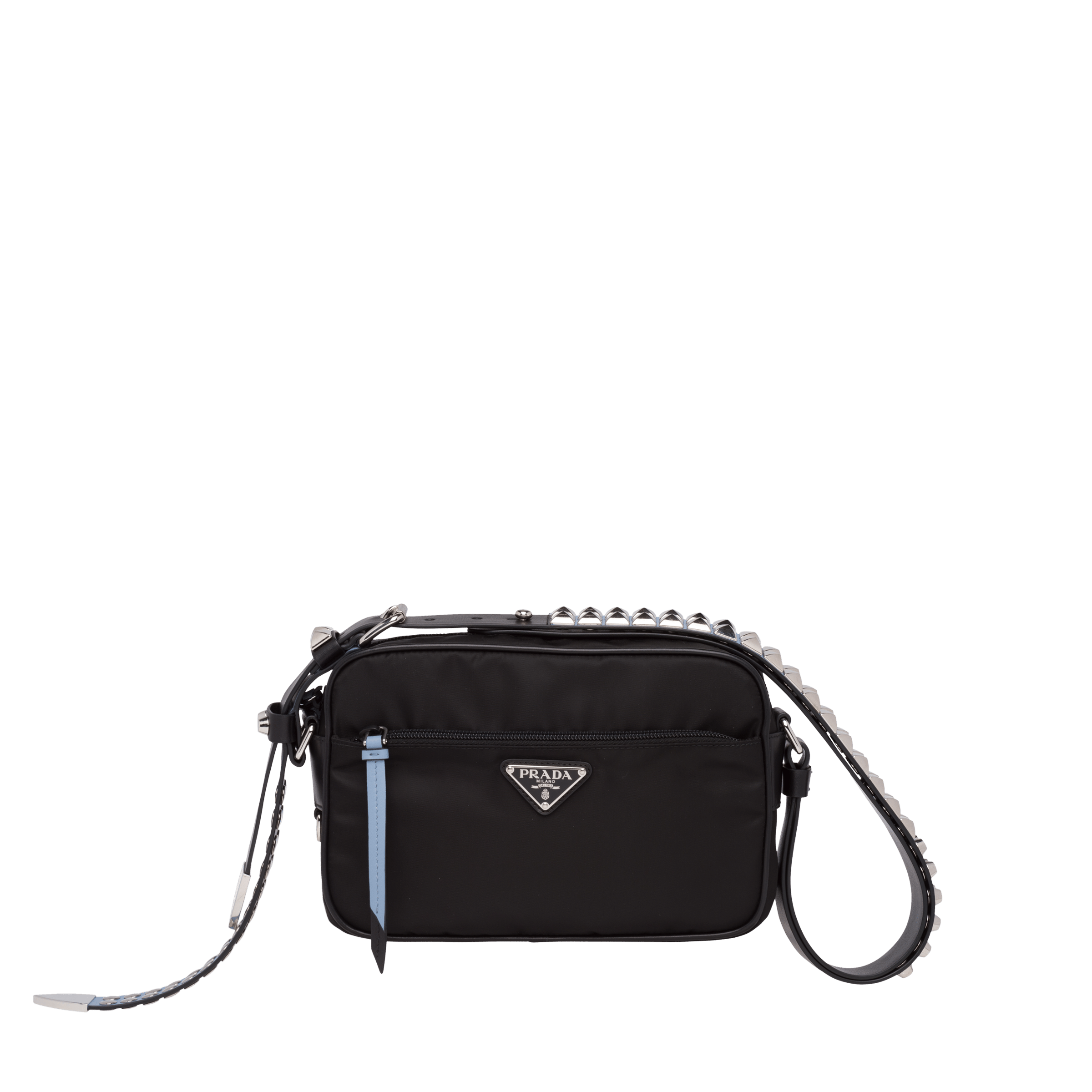 528b949dfdad69 Prada Black Nylon shoulder bag | Prada - 1BC167_2BYB_F0KKT_V_TBO