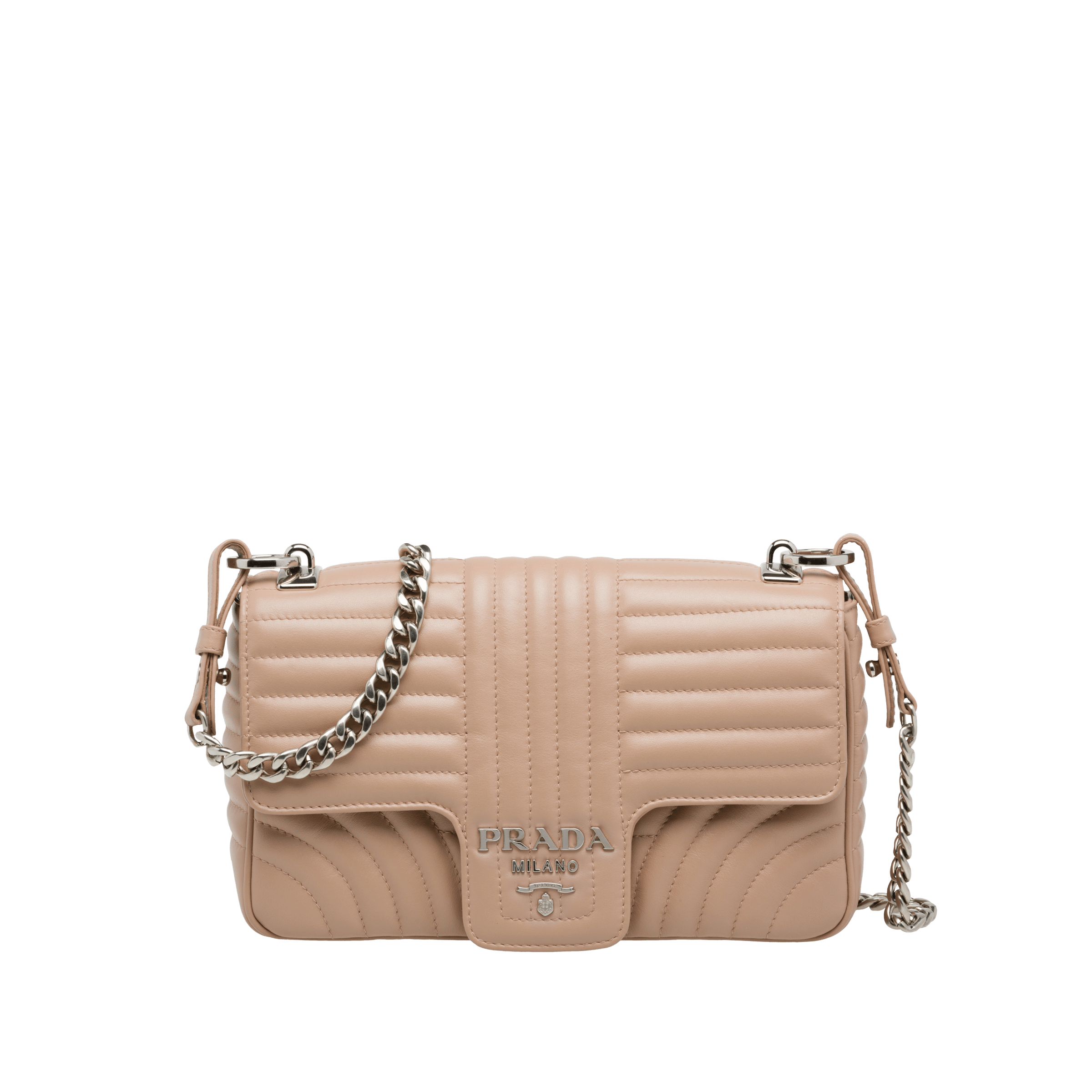 22fcb3fbef5b Prada Diagramme leather shoulder bag | Prada - 1BD108_2D91_F0236_V_COI