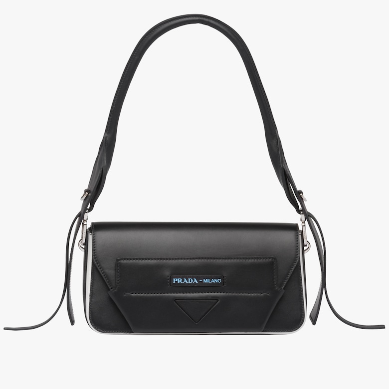 Prada Manuelle leather shoulder bag