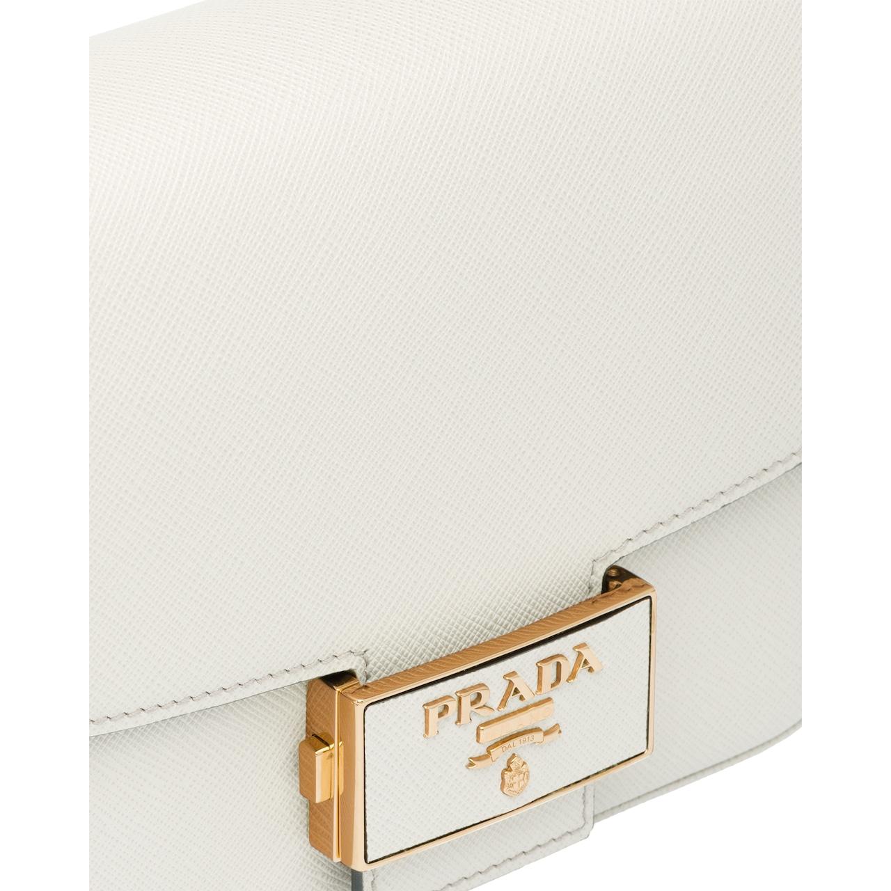 Prada Prada Emblème Saffiano leather bag 6
