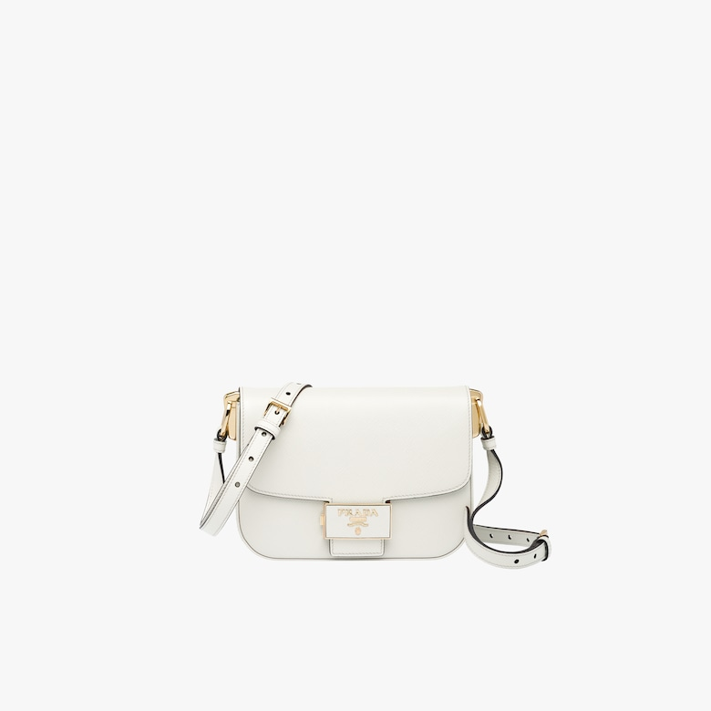 Prada Emblème Saffiano leather bag