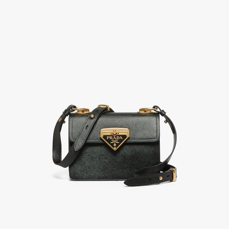 Prada Saffiano leather Prada Symbole bag - Woman