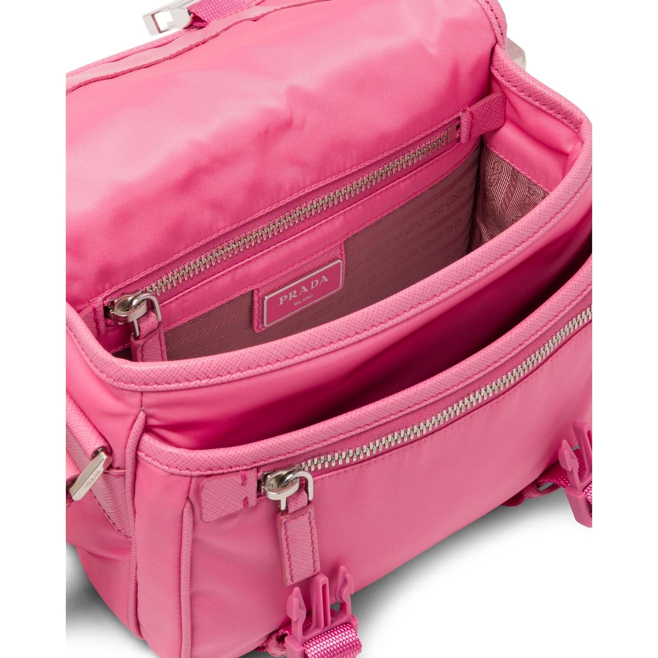 Prada Nylon and Saffiano leather shoulder bag 5