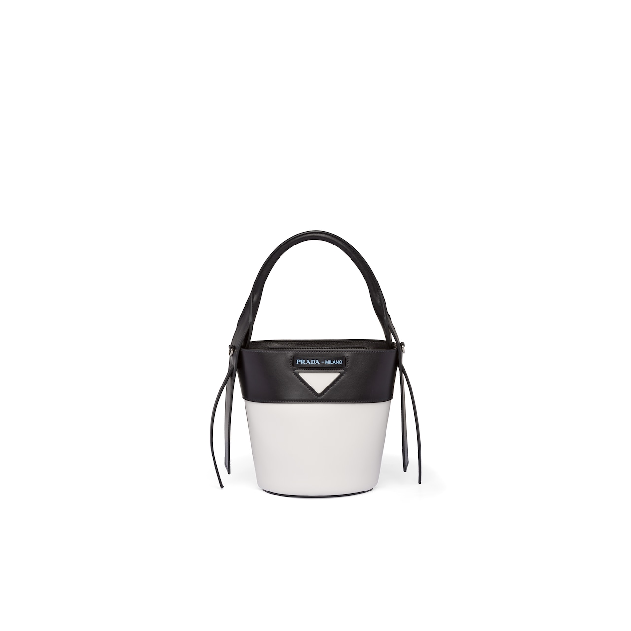 Prada Ouverture leather bucket bag