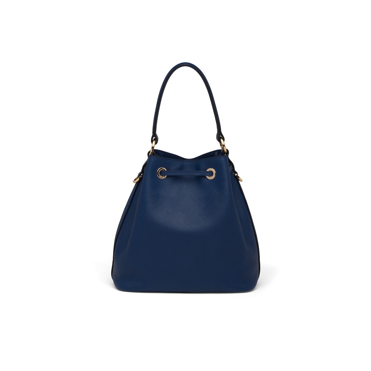 Saffiano leather bucket bag 4