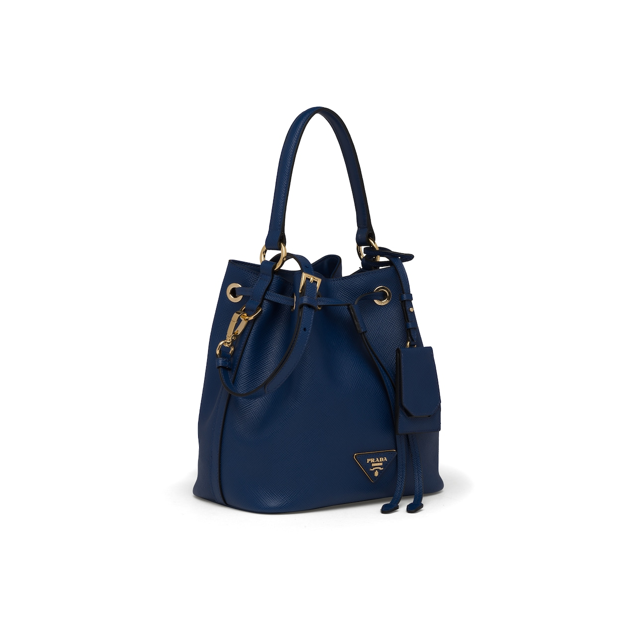 Saffiano leather bucket bag 3
