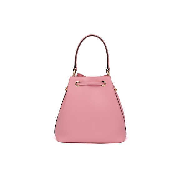 Prada Saffiano leather bucket bag 4