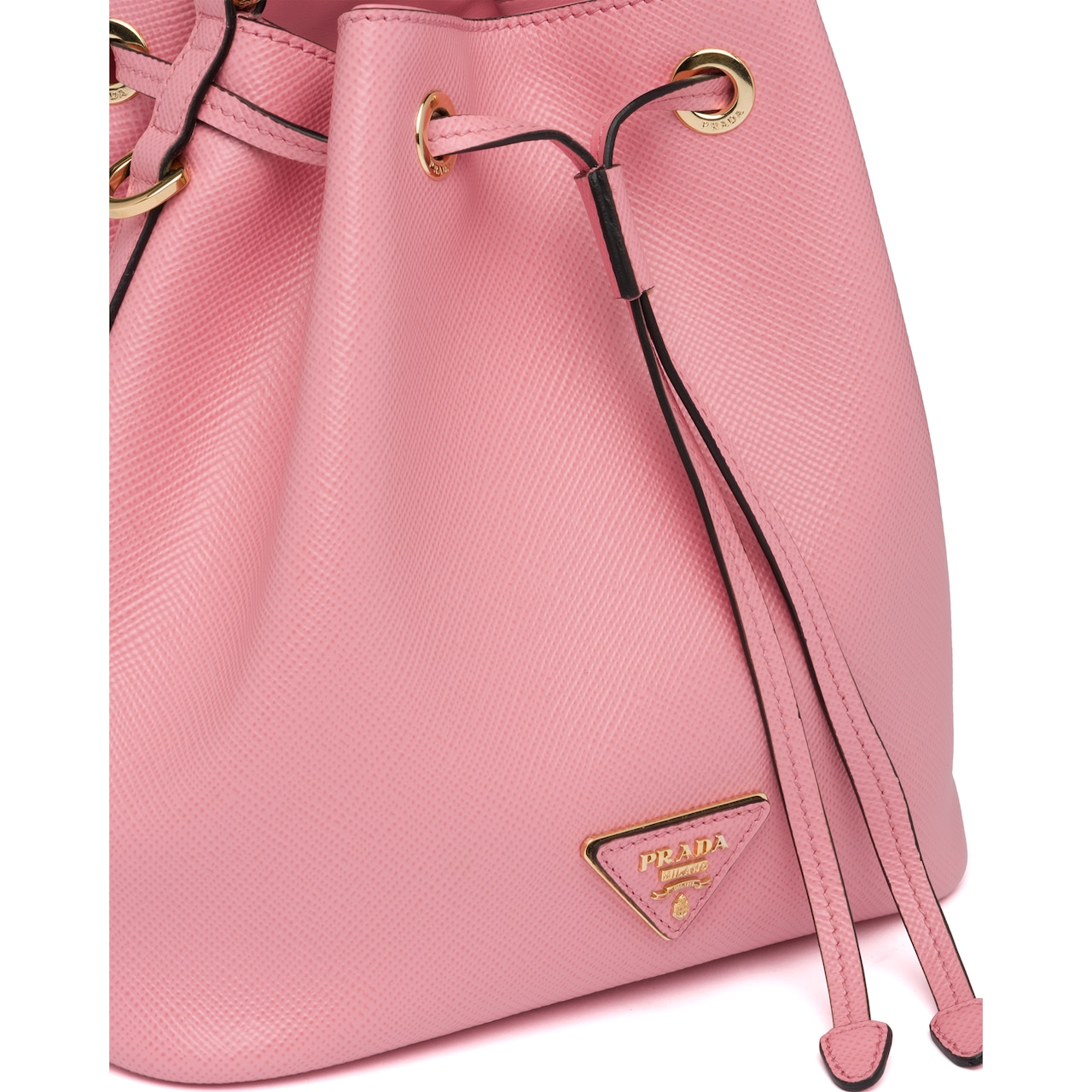 Prada Saffiano leather bucket bag 6