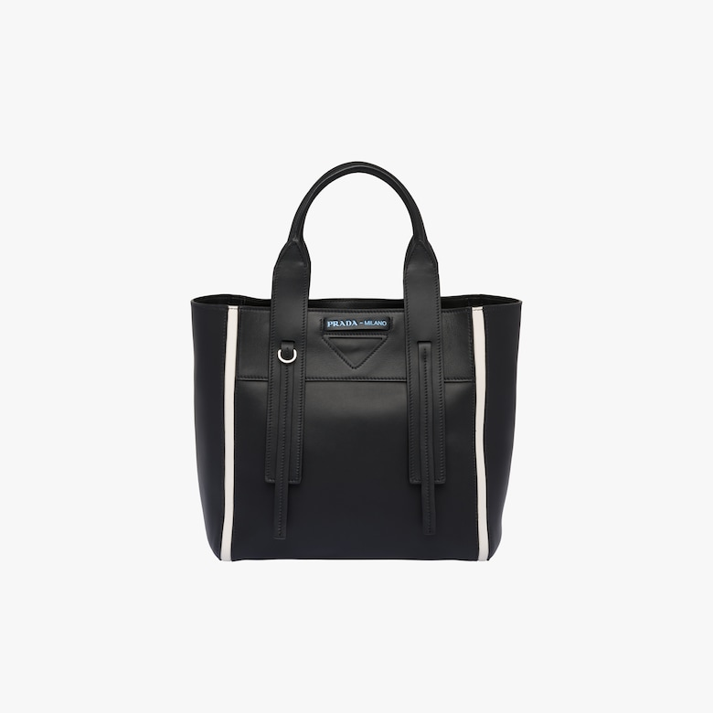 Prada Ouverture small leather bag
