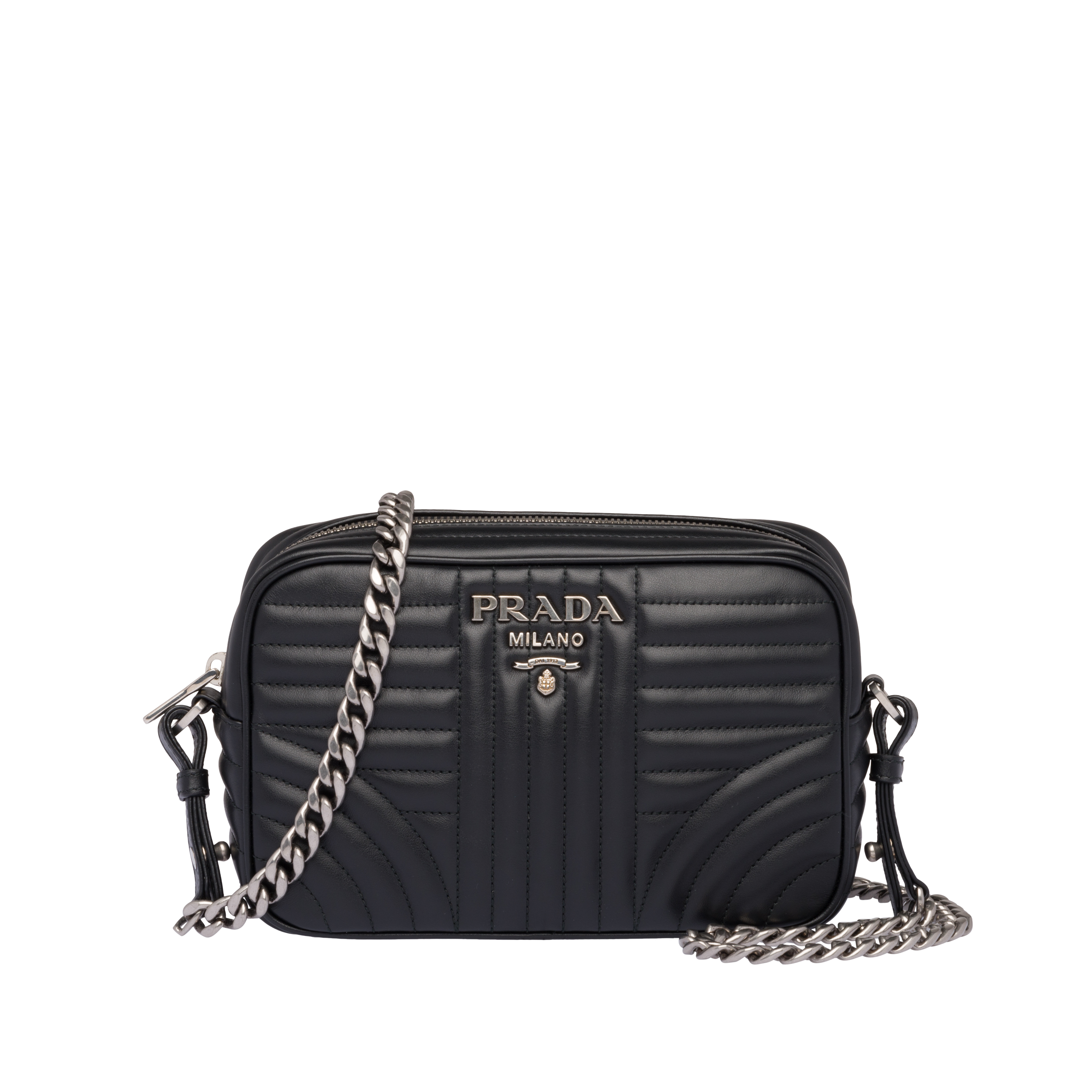 76887a190a81 Prada Diagramme leather cross-body bag