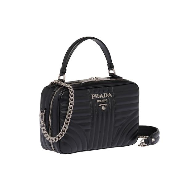 Prada -  diagramme leather bag - 3