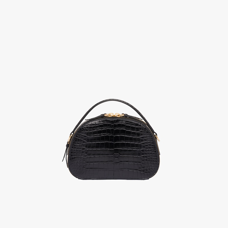 Prada Odette crocodile leather bag