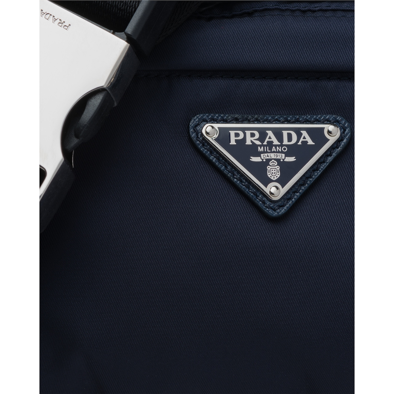 Prada Fabric and leather belt bag 6