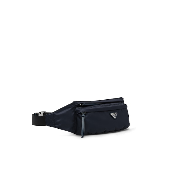 Prada Fabric and leather belt bag 2