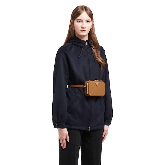 Prada Odette Saffiano leather belt bag