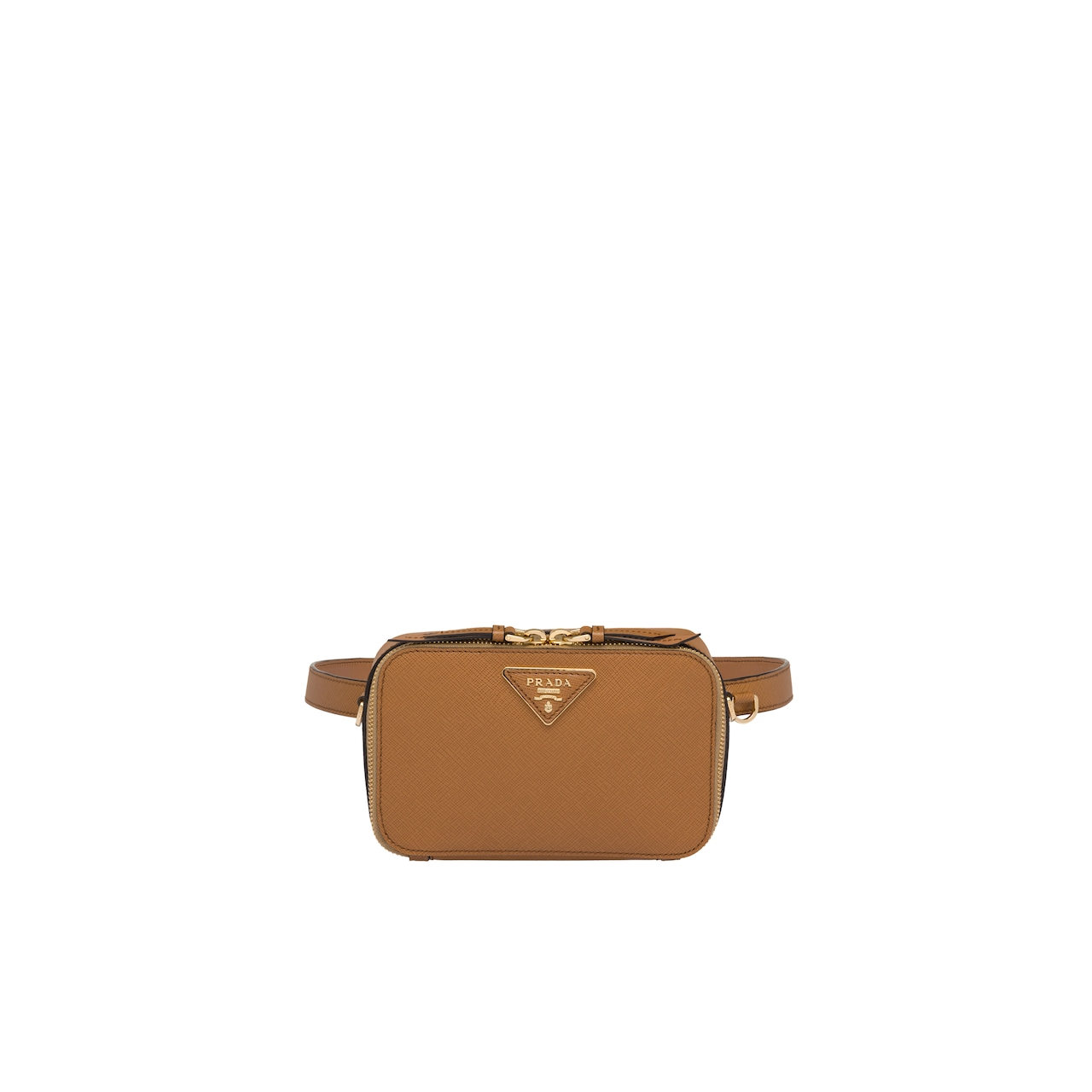 Saffiano leather belt bag