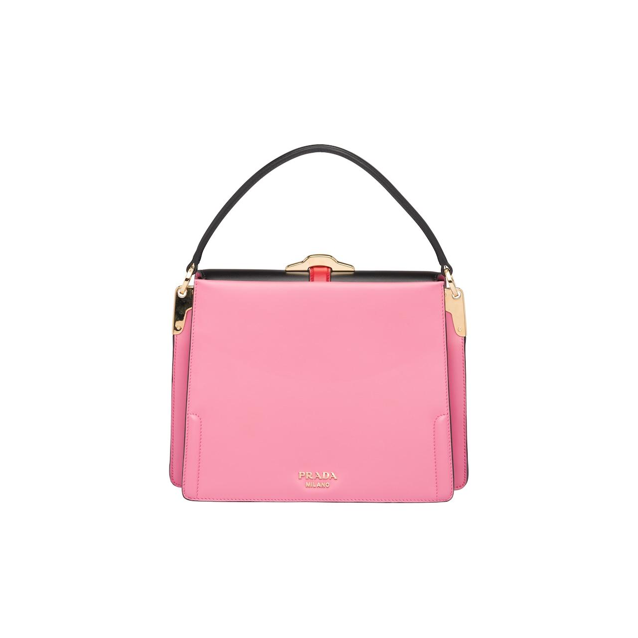5a611dc6ed67 Prada Belle leather bag | Prada - 1BN004_2AIX_F0YN8_V_OOO