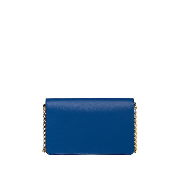 Saffiano leather wallet bag