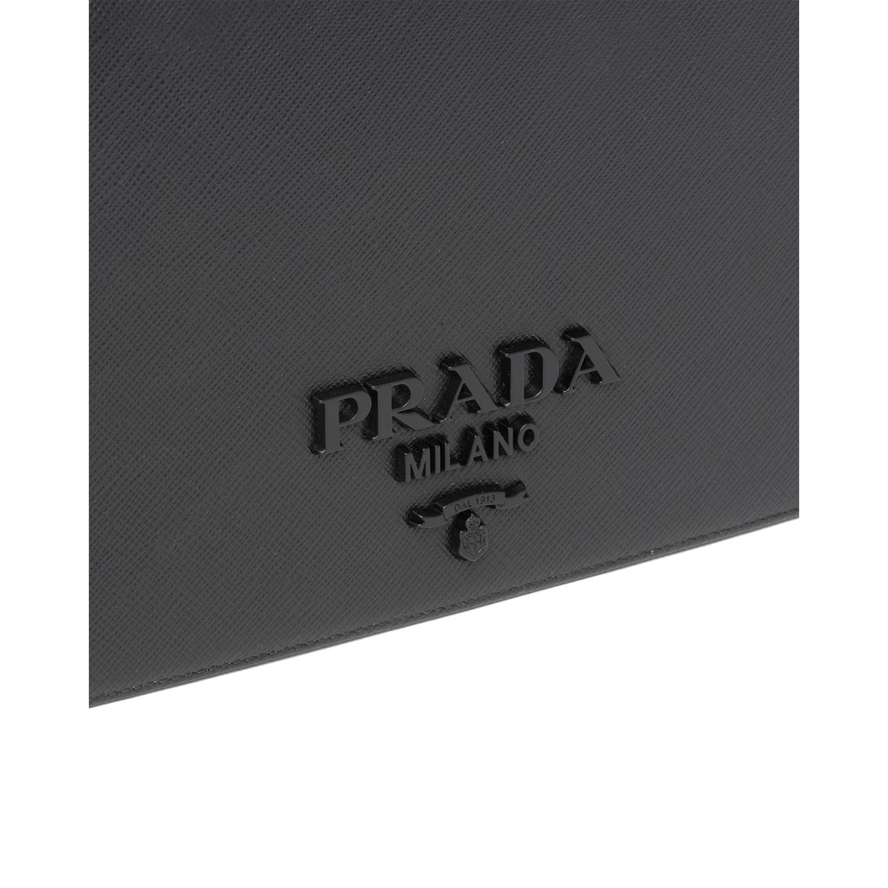 Prada Saffiano 皮革迷你手袋 6