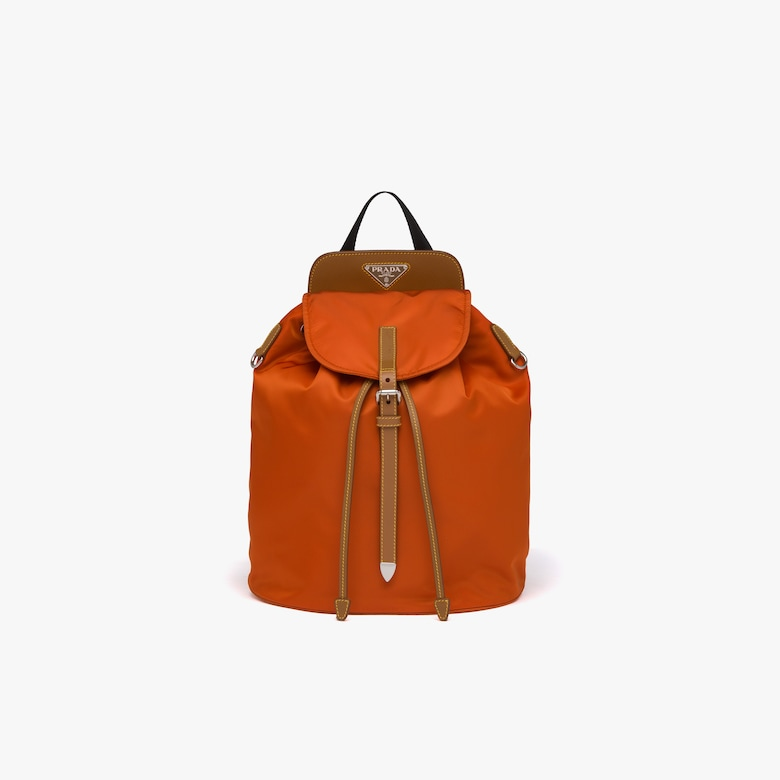 Prada Nylon and Saffiano leather backpack - Woman