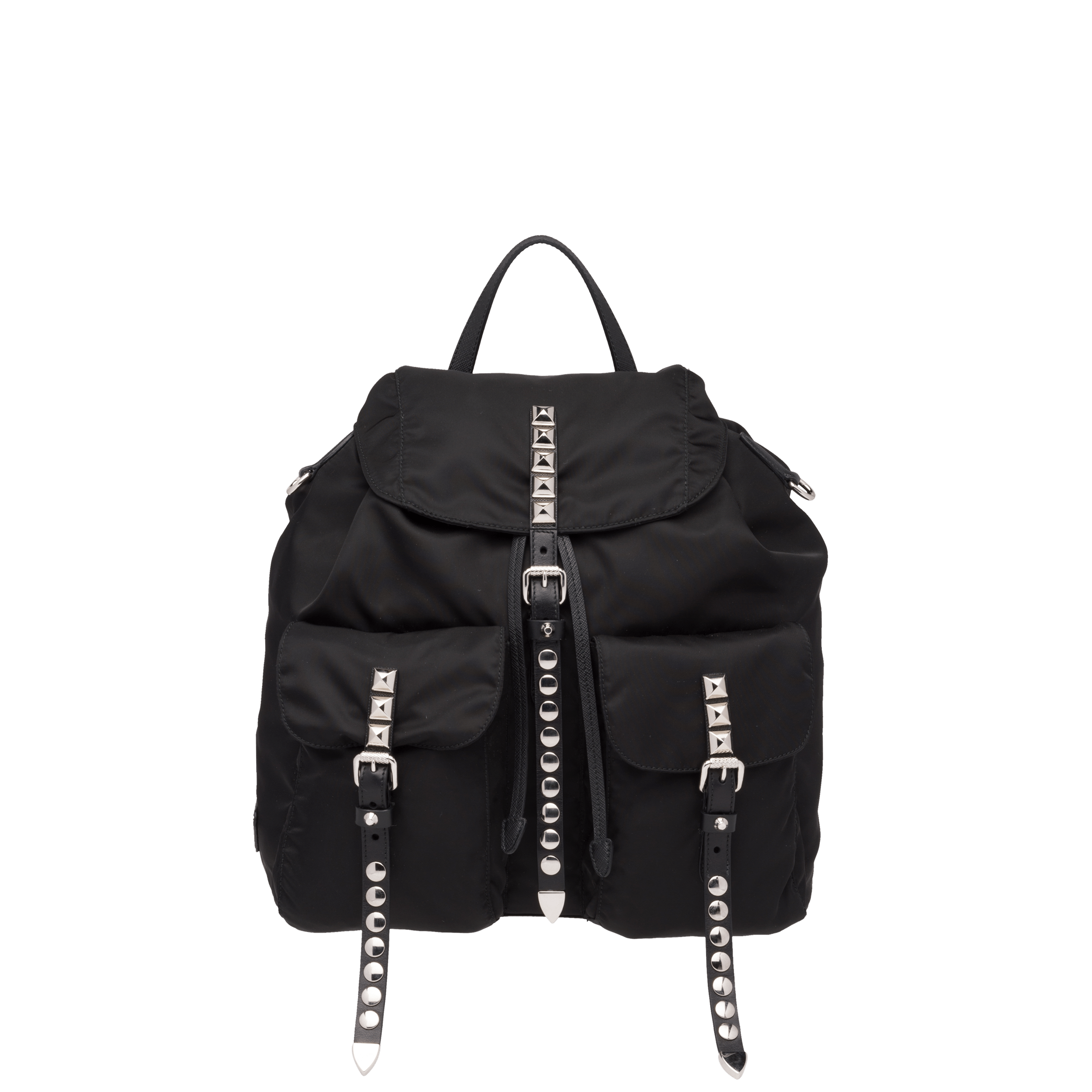 e17445047231 Prada Black Nylon Backpack | Prada - 1BZ811_2BYB_F0002_V_OYO