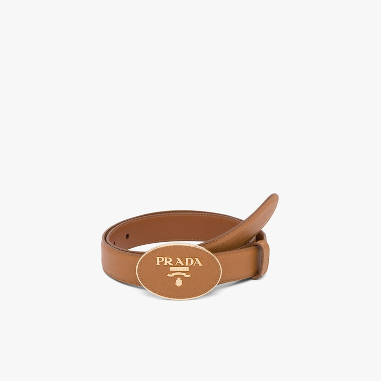 Prada Saffiano leather belt - Woman