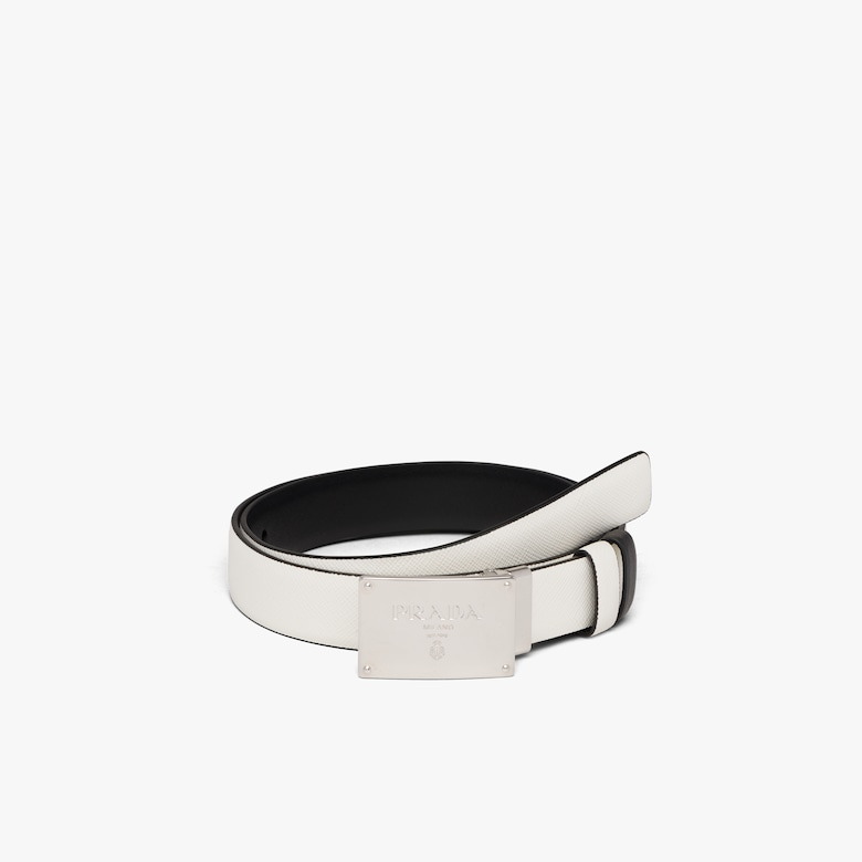 Prada Reversible leather belt - Woman