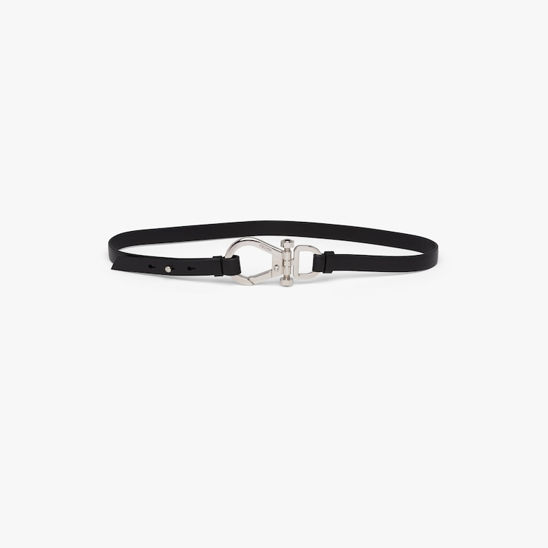 Prada Leather belt with buckle - Woman