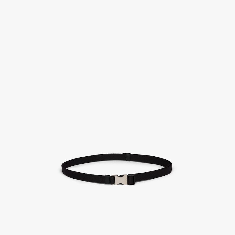 Prada Nylon belt with metal buckle - Woman