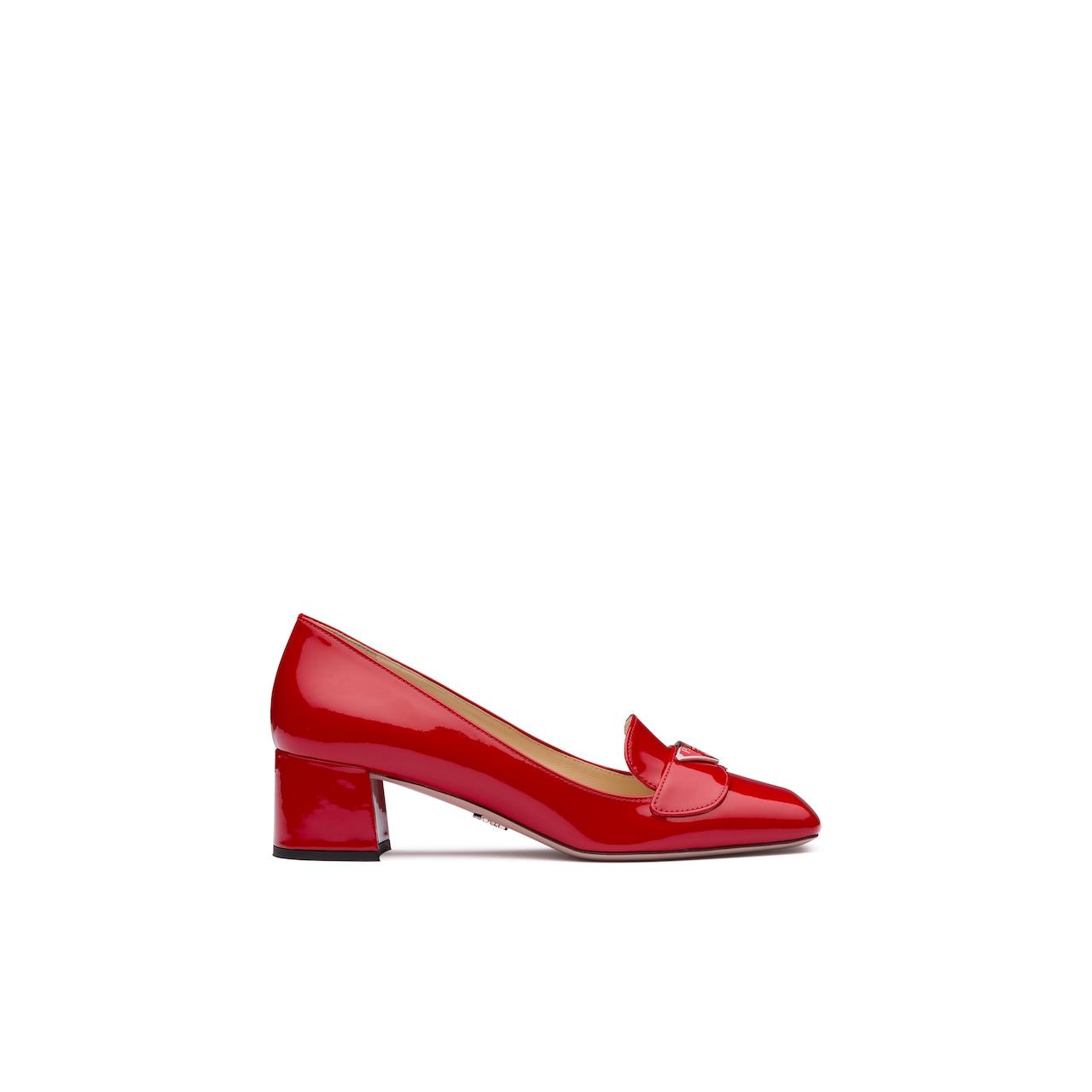 Prada 漆皮乐福鞋 2