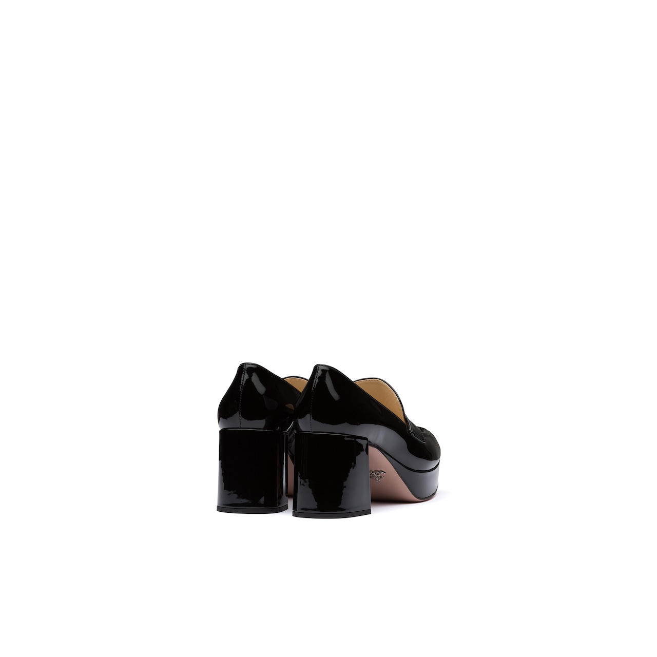 Prada 漆皮厚底乐福鞋 5