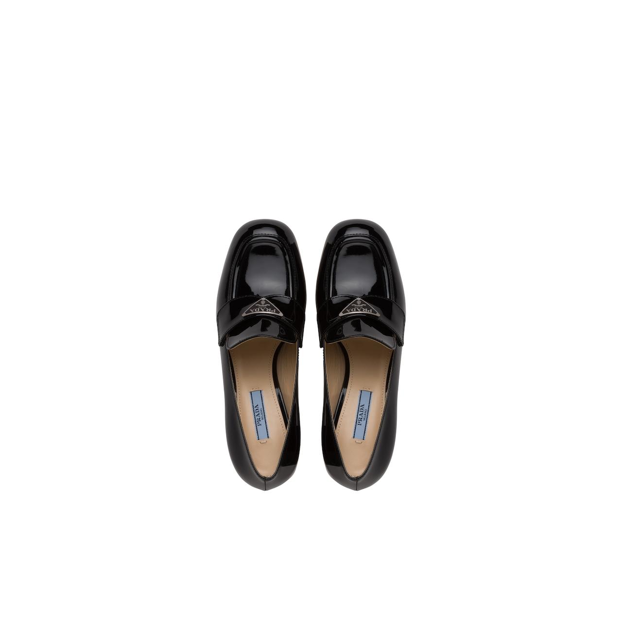 Prada Patent leather platform loafers 4