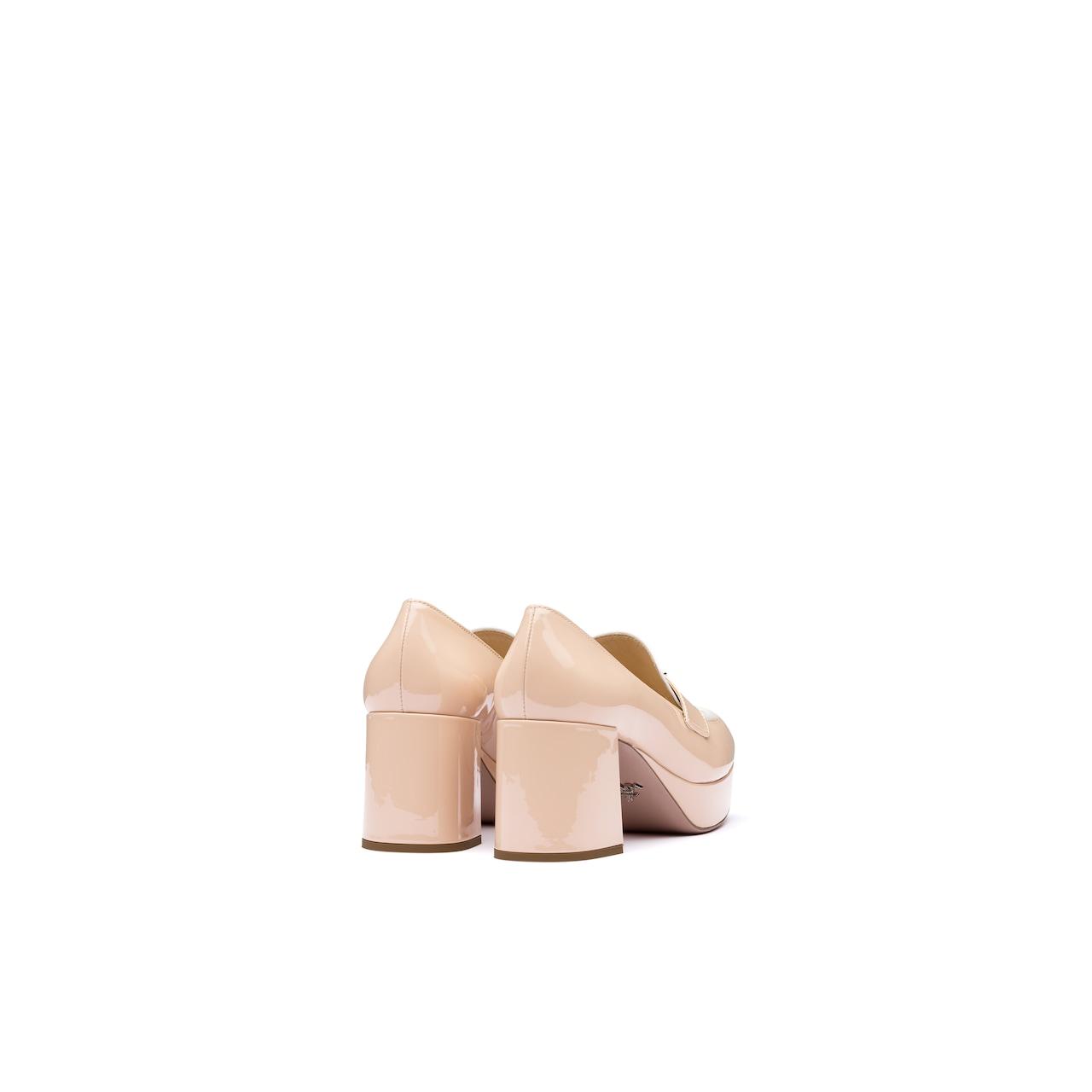 Prada Two-tone patent leather platform loafers 5