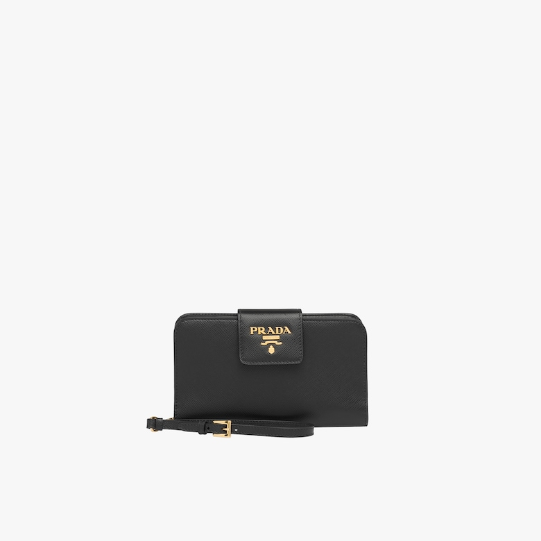 Saffiano leather mini-bag