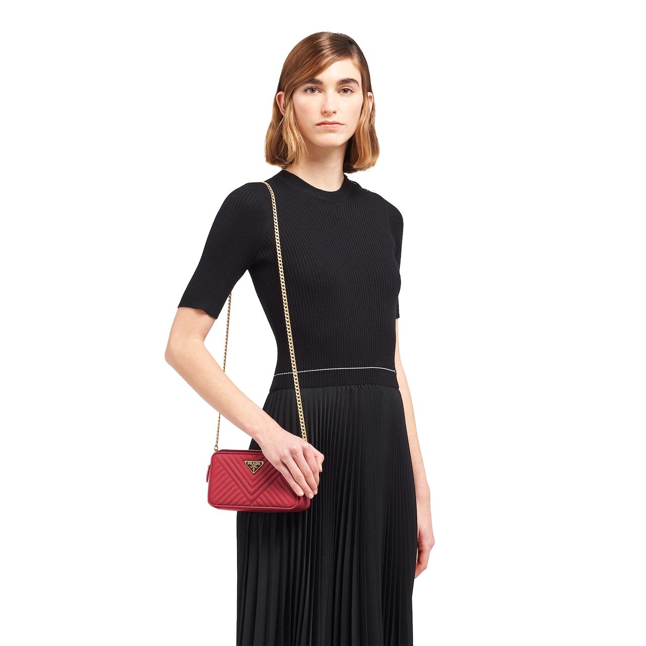 Prada Nappa leather mini shoulder bag 2