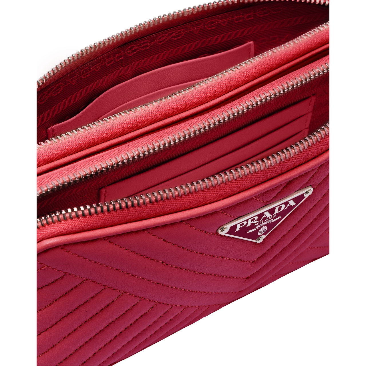 Prada Nappa leather mini shoulder bag 5
