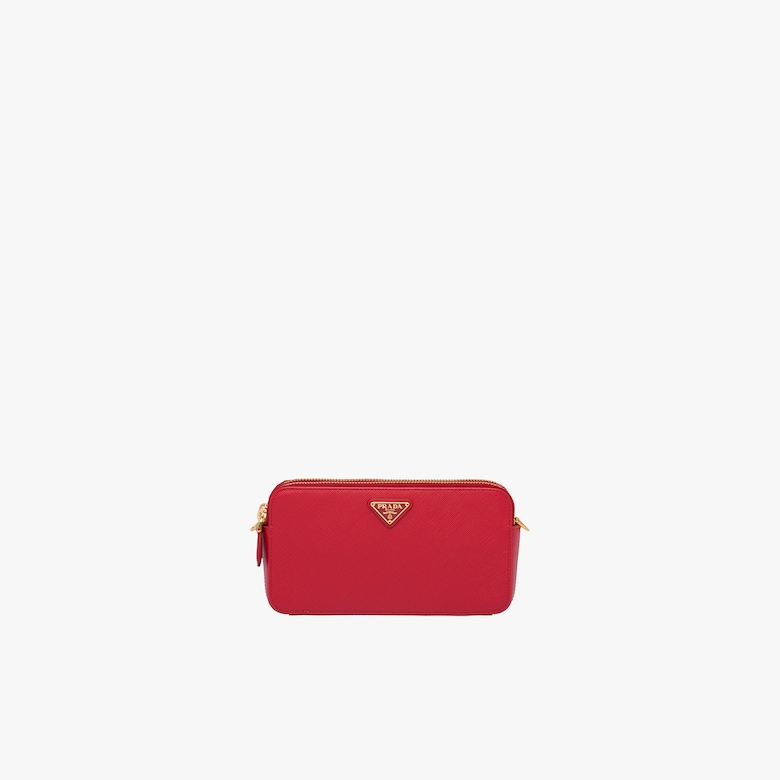 5b1076d64548fa Saffiano leather mini shoulder bag
