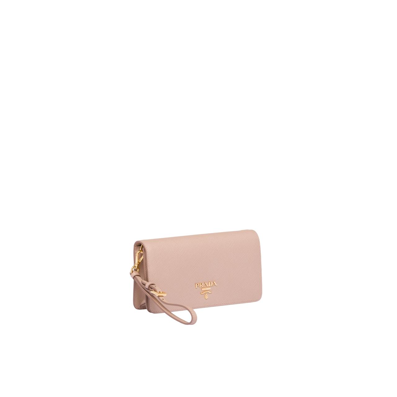 Prada Saffiano 皮革迷你手袋 3